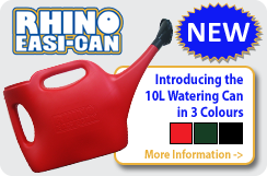 NEW - Rhino Easi-Can 10L Watering Can